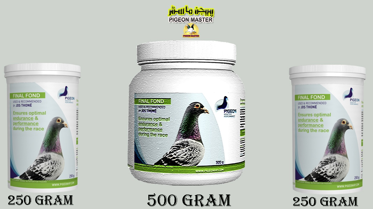 Pigeon Flying Medicines Final Fond And Final Sprint