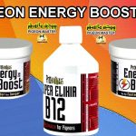 Pigeon Energy Boosters Prowins Energy Boost Capsules And Prowins Super Elixir B12